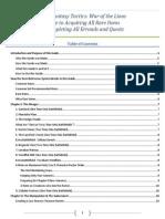 FFT WotL Rare Item Guide v115