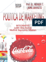 Politicas de Marketing Coca Cola