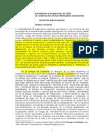 Subercaseaux - Nacionalismo e Integración en Chile