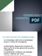 Criminología y Conducta Antisocial
