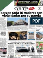 Periódico Norte edición impresa del día 1 de junio del 2014