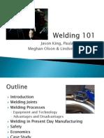 Welding 101 Presentation