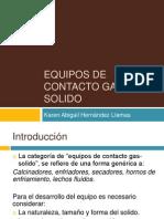 Equipos de Contacto Gas-Solido