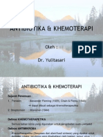 ANTIBIOTIKA & KHEMOTERAPI