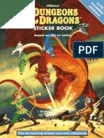 Dungeons & Dragons Sticker Book