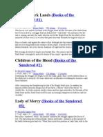 Books of the Sundered.doc