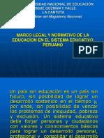 Marco Legal Del Sistema Educativo Peruano
