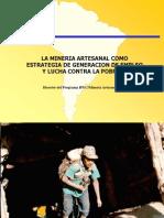 La Mineria Artesanal Como Estrategia de Generacion de Empleo