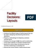 Facility Designs and Layouts