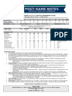 05.31.14 Post-Game Notes