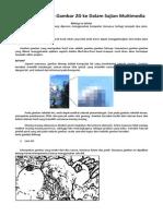 Menggabungkan Gambar 2d Ke Dalam Sajian Multimedia