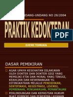 Uu Praktek Kedokteran 2005