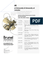 Conference 2014 Programme