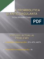 Terapia Trombolitica Si Anticoagulanta