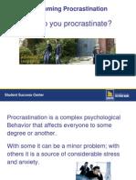 03.Overcoming Procrastination