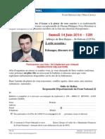 Invitation Fête Champêtre FN22