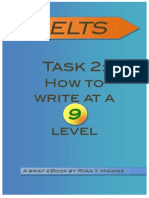 Task 2 - How to Write at a 9 Level