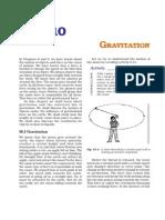 Class9 Science Unit10 NCERT TextBook gravitation