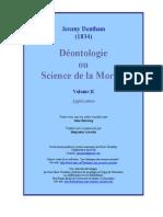 Bentham Deontologie t2