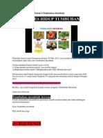 Nota Ulangkaji Sains Tahun 4 Tumbuhan Membiak