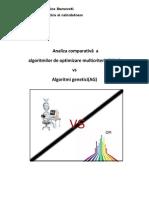 Om vs Algoritmi Genetici