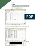 Modul surpac Geologgical Database