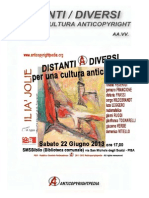 DISTANTI DIVERSI Per-una-cultura-Anticopyright AA VV