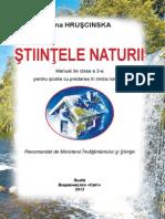 Manualul Copii Stiintele Naturii Clasa III
