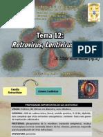 Tema 12 Retrovirus, Lentivirus y VIH