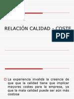 7a RELACIÓN CALIDAD - COSTE.ppt