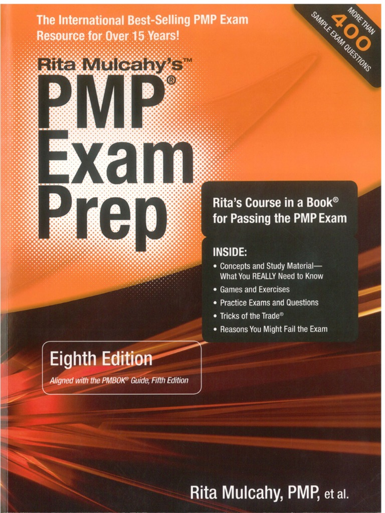 rita mulcahy pmp exam simulation