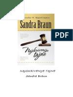 Najskrivenije Tajne Sandra Braun