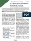 Energy Efficient Self Scheduling Algorithm for Wireless Sensor Networks