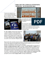 Seminario multilaterale eTwinning Plus      Armenia Maggio 2014