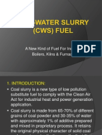 Coal-water Slurry Presentation2