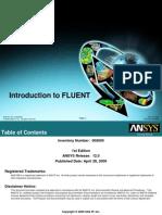 Fluent12 Lecture00 TOC