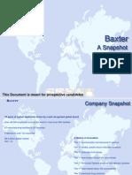 Baxter - A Snapshot