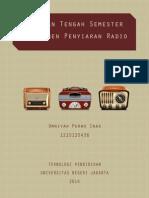 Manajemen Penyiaran Radio
