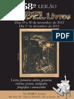 Catalogo 58 Leilao