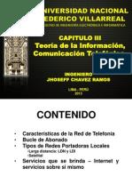 CAPITULO III - Teoría de La Información, Comunicación Telefónica.