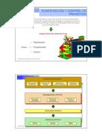 Planificacion Control Proyectos