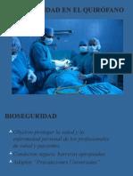 Bioseguridad en El Quirofano