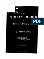 Violin Music of Beethoven