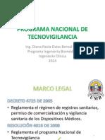 Programa Nacional de Tecnovigilancia