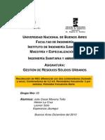Trabajo Práctico RSU 2013 Buenos Aires