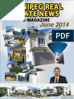 Winnipeg Real Estate E-News for June 2014 (Bo Kauffmann)