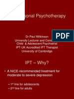 IPT MRCPsych Sep09 Pwilkinson