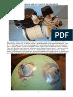Compresor aer din motor de frigider