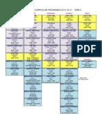 Secondary ECA Schedule Term 2