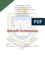 Trabajo de Retrofit Antisismico